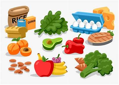 Clipart Healthy Energy Salty Foods Eating Nutrition
