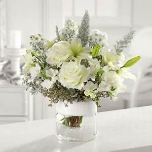 White Centerpieces - Reception Decorating
