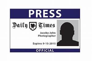 blank press pass template wwwimgkidcom the image kid With press badge template