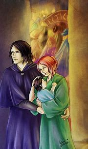 Snape Lily - Cautious Safety by artisteri on DeviantArt