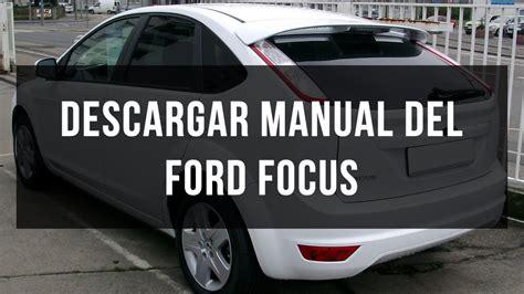 descargar manual ford focus gratis en  youtube
