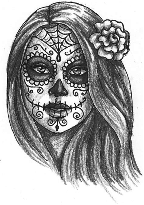 day of the dead girl on Tumblr
