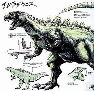 Draw Godzillasaurus 1991 | Paul Ferguson | Flickr