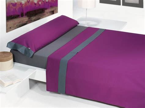 canapé barcelona juego de sabanas aplique morado dormitia