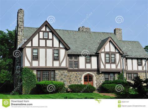 English Tudor House Exterior Stock Image  Image Of