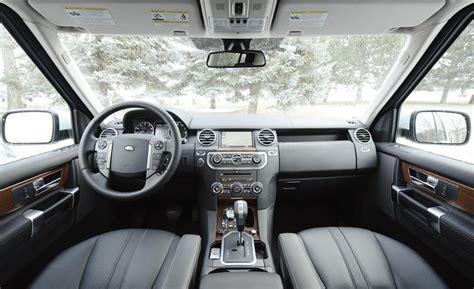 land rover lr4 interior car and driver