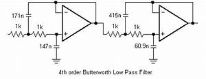 butterworth chebyshev and bessel active filter design With butterworth filter