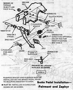 Brake Light Switch Diagram For A 78 Fairmont