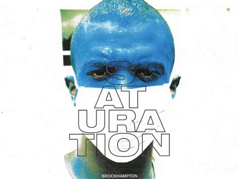 brockhampton saturation album stream cover art
