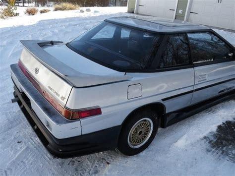 Subaru Xt Turbo by Snow Mobile 1986 Subaru Xt Turbo 4wd