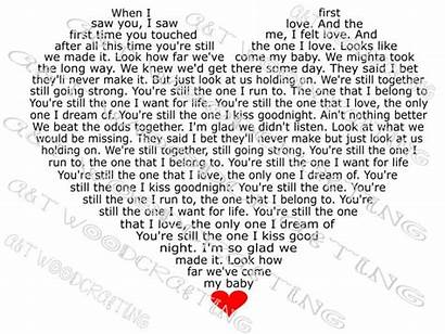Still Heart Shania Twain Lyrics Svg Silhouette