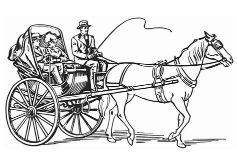 Ausmalbilder Pferde 29