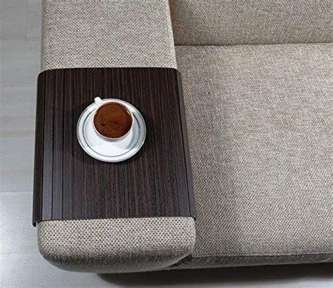 sofa tray table amazon amazon com sofa tray table zebrano tree sofa arm