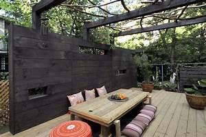 de l39ombre sans abri ni parasol lucie lavigne With amenagement petit jardin avec terrasse 13 personnaliser une credence