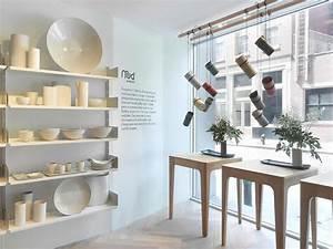 Retail interior design of mud australia store new york for Interior decorator stores