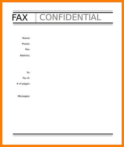 fax cover sheet template fillable ledger review