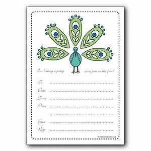 Party invitations colorfull party invitaton template for Inviation templates