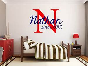 wall letters for nursery boy thenurseries With nice wall decals for toddler boy room