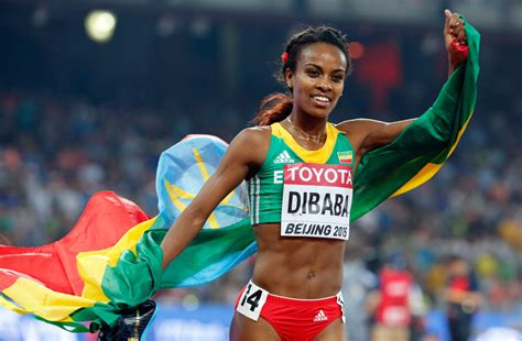 Genzebe Dibaba breaks indoor mile world record – OlympicTalk