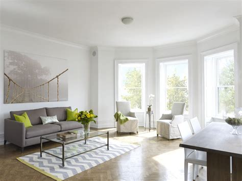 white laminate flooring living room contemporary