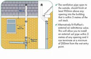 External Air Admittance And Waste Pipe Design