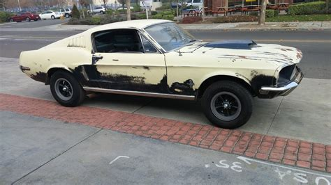 1968 Ford Mustang Fastback  Eleanor Donor Car Or Build To