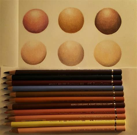 prismacolor skin tone colored pencils pencil drawing tools part 1 drawing pencils and