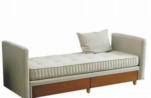 lit a tiroirs kangourou simmons meridienne ou canape lit With canapé lit simmons