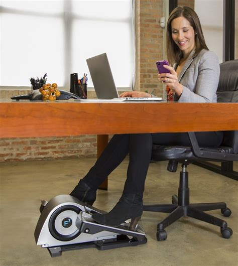 foot rest under desk benefits cubii elliptical trainer brings fitness to the workplace