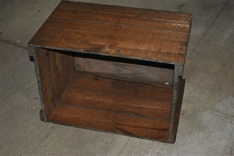 freckle wooden crate diy projects side table  storage