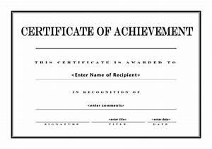Certificate of Achievement 004