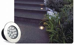 Lampu Tanam Led Outdoor Waterproof Aluminium Dim  160mm
