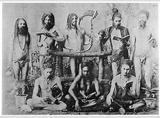 DRAVIDIAN YOGI ASCETICS WITH DREADLOCKS ;like Rasta in