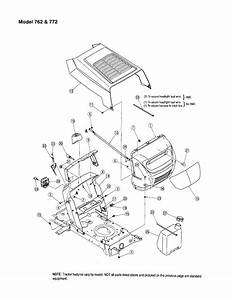Mtd Model 13am762f765 Lawn  Tractor Genuine Parts