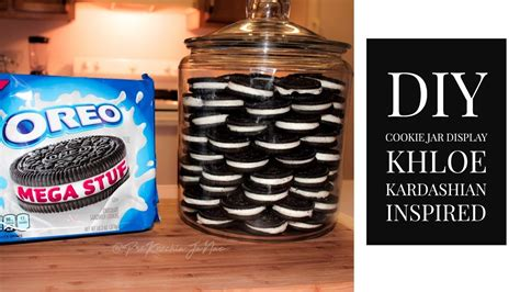 Oreo Cookie Jar Khloe Kardashian Ocd Cookie Jar Cookie Display Khloe Kardashian Inspired