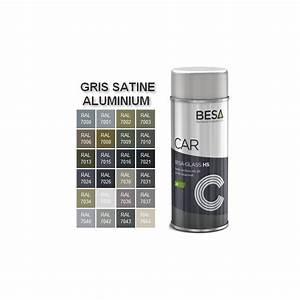 bombe de peinture pour aluminium 2k ral gris satine With bombe de peinture aluminium