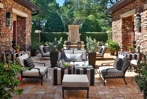 sensational mediterranean patio designs youll fall