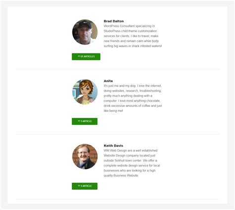 author page template genesis author contributors page template