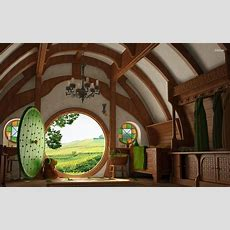 Amazing Hobbit House  Architecture & Interior Design