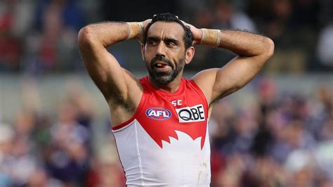 anger shame tears  reactions   adam goodes
