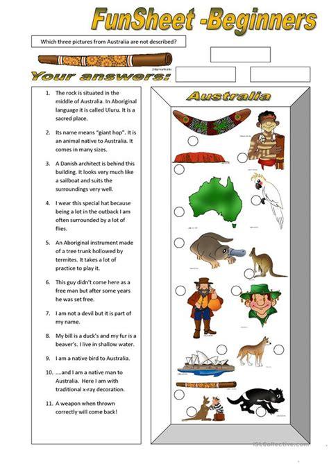 funsheet for beginners australia worksheet free esl printable worksheets made by teachers
