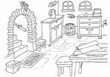 Basement Coloring Keller Malvorlage Cave Coloriage Para Dibujo Colorear Pages Dessin Maison Sotano Printable Edupics Zum Grosse Herunterladen Abbildung sketch template
