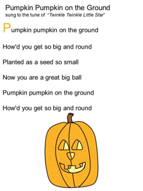 pumpkin rhymes preschool new 1 poems for 206