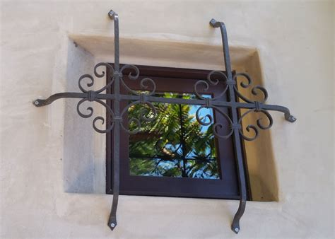 decorative security bars for windows wrought iron security window bars orange county ca
