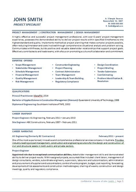 curriculum vitae australia format