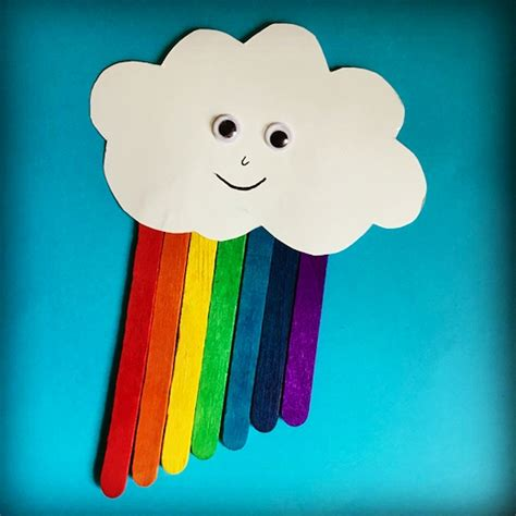 popsicle sticks rainbow craft the of 198 | Rainbow Instagram Edit
