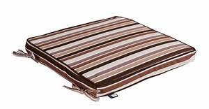 Sitzkissen Box Garten : garten stuhl auflage sitzkissen stuhlkissen kissen antibes streifen braun 40x40cm wohntextilien ~ Whattoseeinmadrid.com Haus und Dekorationen
