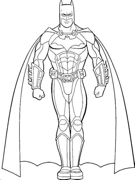 pictures  batman coloring  kids super hero coloring