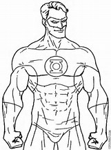 hd wallpapers green lantern coloring pages to print