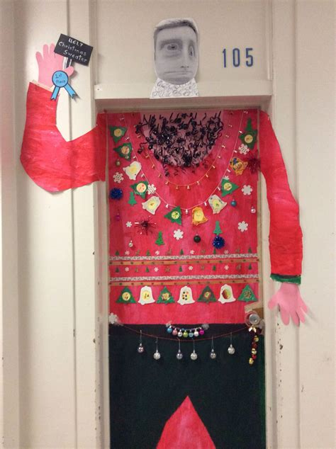Decorating Ideas For Sweaters by Sweater Door Decoration Ideas